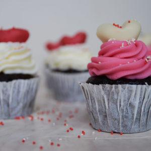 Valentine's Day Cupcakes Σοκολάτας