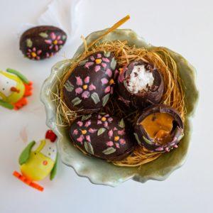 Σοκολατένια Πασχαλινά Αυγά