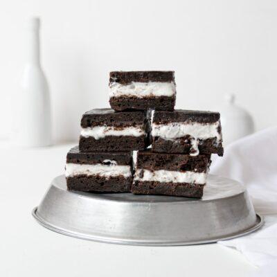 Brownie Παγωτο Σάντουιτς