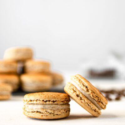 Macarons Τιραμισού