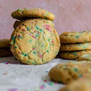Cookies με Πολύχρωμη Τρούφα