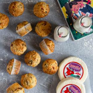 Μεσογειακά Muffins με Μαλακό Τυρί Μαστέλο®
