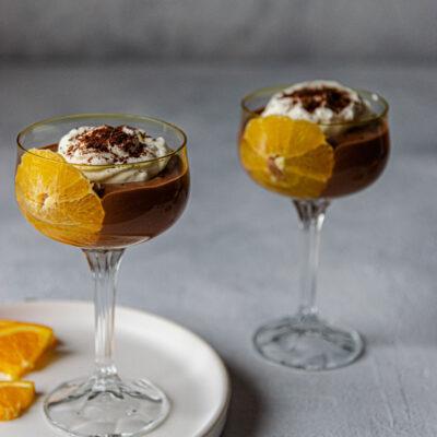 Μους Σοκολάτα – Πορτοκάλι με Φύλλα Στέβια Stelvia Hellas® (χωρίς ζάχαρη)