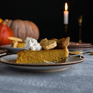 Pumpkin Pie (Τάρτα Κολοκύθας)