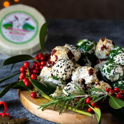 Γιορτινές Μπαλίτσες Τυριού με Κατσικάκι Μαστέλο®